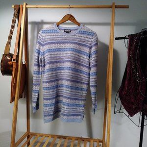 Lands' End Lambswool Fair Isle Sweater S
